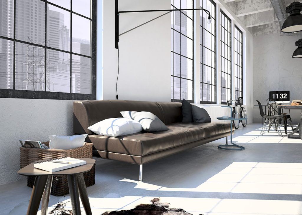 Abstract Living Room